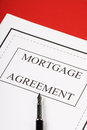 Free Mortgage Agreement Stock Photography - 31538852