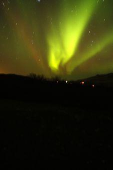 Free Starlit Aurora Borealis Royalty Free Stock Photo - 31535805