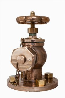 Free Vintage Brass Valves Royalty Free Stock Photo - 31536715