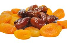 Free Apricots And Dates Stock Images - 31538764