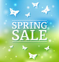 Free Spring Sale Stock Photography - 31543222