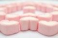 Free Pink Heart Marshmallow Royalty Free Stock Photo - 31546535