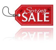 Spring Sale Stock Image