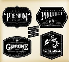 Free Vintage Labels Royalty Free Stock Images - 31543779