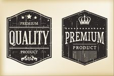 Free Vintage Labels Royalty Free Stock Photo - 31548485