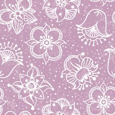 Free Seamless Floral Pattern. Royalty Free Stock Photo - 31549415