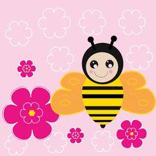 Free Sweet Bee Royalty Free Stock Photo - 31551405