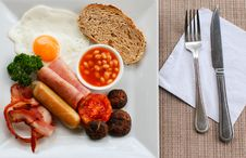 Free English Breakfast Royalty Free Stock Image - 31553116