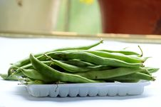Free Raw Green Beans Royalty Free Stock Images - 31553809