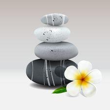 Free Spa Still Life With Frangipani Flower Stock Photo - 31557170