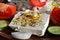 Free Feta Cheese Salad 1 Royalty Free Stock Image - 31551156