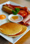 Free Breakfast With Pancakes Royalty Free Stock Image - 31553156