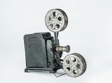 Free Vintage Film Projector Stock Photo - 31564710