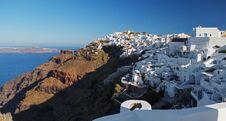 Free Santorini S Unique View At Sunrise. Greece. Royalty Free Stock Photo - 31565265