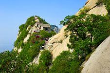 Free Look Up To North Peak_Hua Mountain_xian Stock Image - 31565621