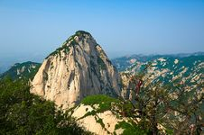 Free Milky White Peak_landscape_huashan_xian Royalty Free Stock Photography - 31565897
