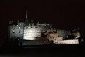 Free Night View Of Edinburgh Castle Stock Image - 31574821