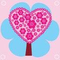Free Pink Tree Royalty Free Stock Photo - 31577795