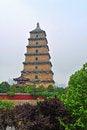 Free The Wild Goose Pagoda_xian Royalty Free Stock Photography - 31578257