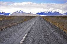 Free Road In Iceland Royalty Free Stock Images - 31575419