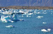 Free Blue Icelandic Gracier Stock Images - 31576014