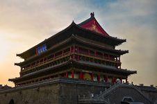 Free Xian Drum-tower_xian_shanxi Stock Photo - 31578500