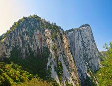Free The West Peak_wuyun Peak_Hua Mountain_shanxi Stock Photos - 31578623