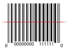 Free Line On Barcode Royalty Free Stock Photography - 31578767