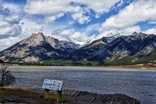 Free Lac Des Arcs Alberta Royalty Free Stock Image - 31579556