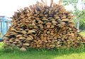 Free Stacked Firewood In A Pile Stock Photography - 31580272