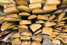 Free Stacked Firewood In A Pile Stock Image - 31580271