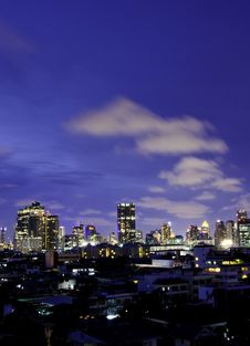 Free Bangkok At Twilight Stock Images - 31580334