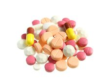 Free Pile Of Various Pills Stock Image - 31581361
