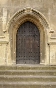 Free Church Door And Steps Royalty Free Stock Image - 31587706