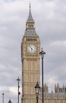 Free Big Ben Tower London Stock Image - 31588081