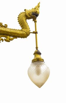 Free Isolated Lamp Post Royalty Free Stock Photography - 31588547