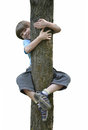 Free Boy In A Tree Stock Photography - 31592952
