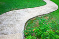 Free Stone Walkway In The Park Royalty Free Stock Photo - 31599145