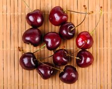 Heap Of Sweet Cherries Stock Photography