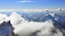 Free Peaks Of Bavarian Alps Royalty Free Stock Images - 31592199
