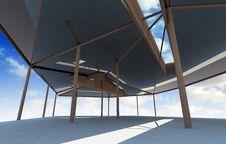 Free Futuristic Architecture With Organic Structure Stock Photo - 31598880