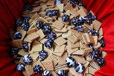 Free Gingerbread And Biscuits Stock Photography - 31599112