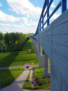 Modern Bridge Royalty Free Stock Photography