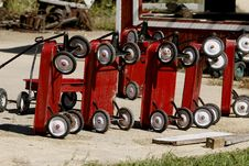 Free Wagons In A Row Stock Photo - 3160450