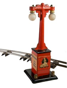 Free Old Accesory For Toy Trains Stock Photography - 3160502