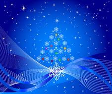Free Christmas Tree - Vector Royalty Free Stock Photo - 3160735