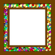 Free Frame With Soother-border Royalty Free Stock Photos - 3161108