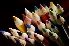 Free Multi-coloured Pencil Leads Royalty Free Stock Photography - 3161197