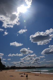 Free Sunny Day At Beach Royalty Free Stock Photography - 3161307