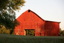 Rural Barn Tennessee Stock Photos